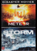 Disaster Movies: Meteor + The Storm  -  2 disc