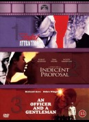 Fatal Attraction + Indecent Proposal + An Officer And A Gentleman  -  3 disc