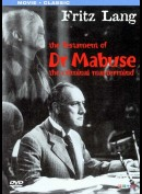 The Testament Of Dr. Mabuse: The Criminal Mastermind