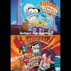 Futurama: Benders Big Score + Monster Robot Maniac Fun Coll.