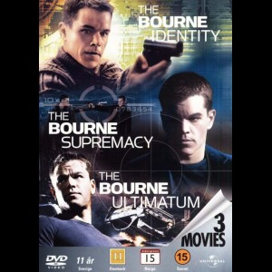 Bourne Trilogy Boks  -  3 disc