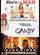 Shes The Man + Candy + Alex Rider & Stormbreaker