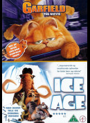 Garfield + Ice Age  -  2 disc