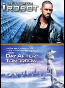 The Day After Tomorrow + I, Robot  -  2 disc