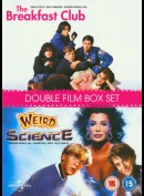 Breakfast Club + Weird Science  -  2 disc
