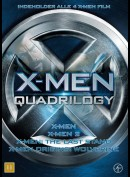 X-Men: Quadrilogy Boks  -  4 disc