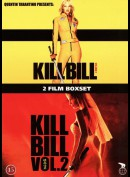 Kill Bill Vol. 1 + Kill Bill Vol. 2  -  2 disc