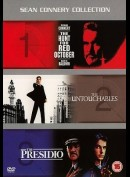 The Hunt For Red October + De Uovervidelige + The Presido  -  3 disc
