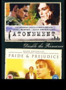 Pride & Prejudice + Atonement  -  2 disc