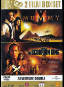 Mumien + The Scorpion King - 2 disc