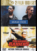Miami Vice + Treasure Raiders  -  2 disc