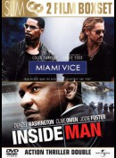 Miami Vice + Inside Man  -  2 disc