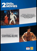 Saturday Night Fever + Staying Alive  -  2 disc