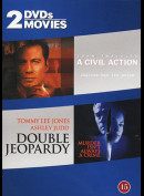 A Civil Action + Double Jeopardy  -  2 disc