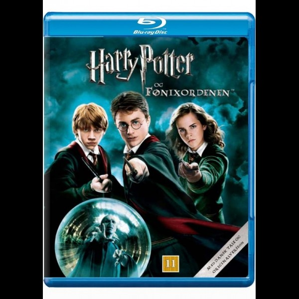 harry potter dvd box med dansk tale