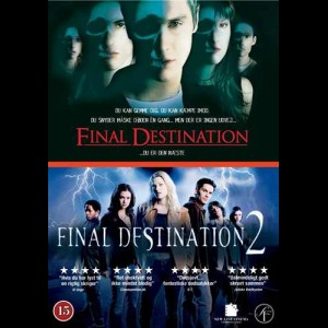 Final Destination 1 + 2  -  2 disc