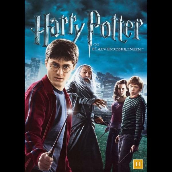 Lækker Køb Harry Potter Og Halvblodsprinsen (6) - FilmMarked.dk DVD IJ-66