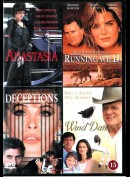 Anastasia + Deceptions + Running Wild + Wind Dancer (4 Film)