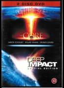 The Core + Deep Impact  -  2 disc