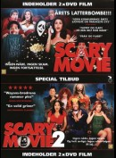 Scary Movie + Scary Movie 2  -  2 disc