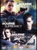 u10534 Bourne Trilogy Boks  -  3 disc