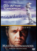 Day After Tomorrow + Master & Commander - 2 disc
