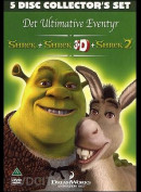 Shrek: Det Ultimative Eventyr  -  5 disc