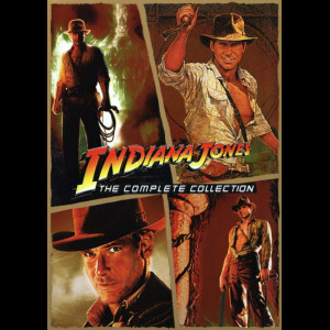 Indiana Jones: The Complete Collection  -  4 disc
