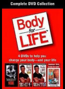 Body For Life: Complete DVD Collection  -  4 disc (INGEN UNDERTEKSTER)