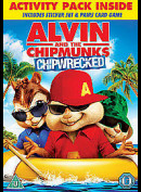 -3342 Alvin And The Chipmunks: Chipwrecked (KUN ENGELSKE UNDERTEKSTER)