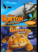 Dr. Seuss: Horton Og Støvfolket Hvem + Garfield: The Movie