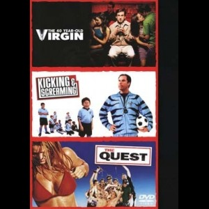 40 Year Old Virgin + Kicking And Screaming + The Quest  -  3 disc