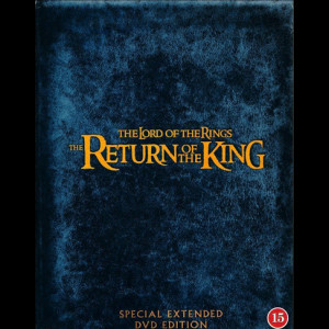 The Lord Of The Rings 3  -  4 disc Extended Edition (Ringenes Herre 3: Kongen Vender Tilbage)