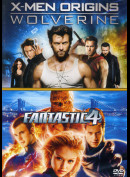 X-Men Origins: Wolverine + Fantastic 4  -  2 disc