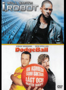 I, Robot + Dodgeball  -  2 disc