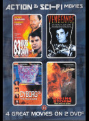 Action & Sci-Fi Movies  -  4 disc