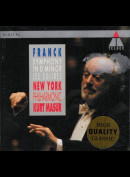 c1674 Franck: New York Philharmonic, Kurt Masur: Symphony In D Minor / Les Éolides