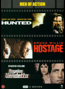 Men Of Action Filmboks (3 Film: Bl.a. The Hunted...)