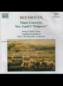 c4616 Beethoven, Stefan Vladar, Capella Istropolitana, Barry Wordsworth: Piano Concertos Nos. 4 & 5