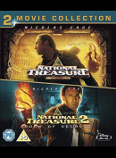 National Treasure 1+2  -  2 disc