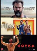 Blood Father + The Nice Guys + Boyka  -  3 disc